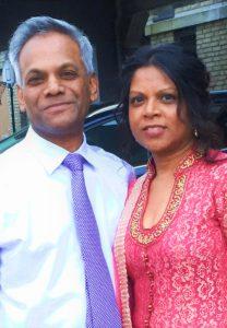Arnold en Sharmila