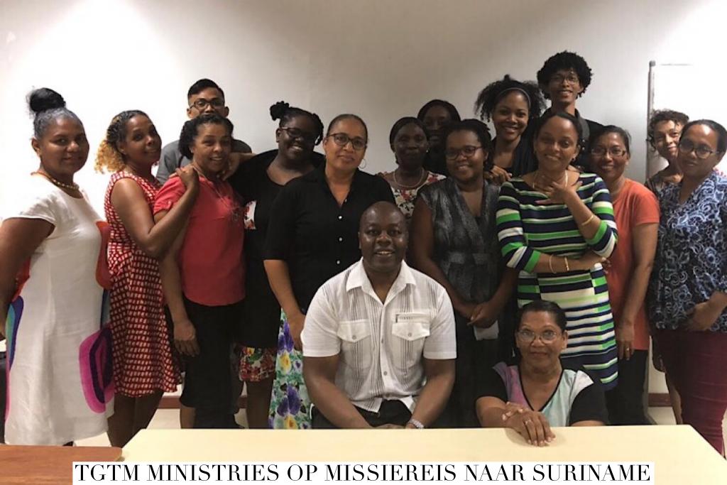 TGTM Ministries Op Missiereis Naar Suriname